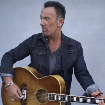 Bruce Springsteen Headshot